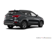 2017 Hyundai Santa Fe Sport 2.4 L LUXURY | Photo 2 | Titanium Silver