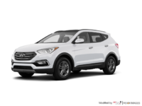 2017 Hyundai Santa Fe Sport 2.4 L LUXURY | Photo 3 | Frost White Pearl