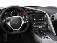 2018 Chevrolet Corvette Convertible Stingray Z51 2LT | Photo 3 | Grey Competition Sport buckets Leather seating surfaces with sueded microfiber inserts (144-AE4)
