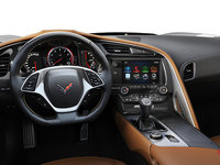 2018 Chevrolet Corvette Coupe Grand Sport 2LT | Photo 2 | Kalahari Competition Sport buckets Leather seating surfaces with sueded microfiber inserts (344-AE4)