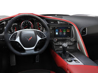 2018 Chevrolet Corvette Coupe Grand Sport 2LT | Photo 2 | Adrenaline Red Competition Sport buckets Perforated Mulan leather seating surfaces (703-AE4)