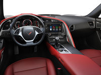 2018 Chevrolet Corvette Coupe Grand Sport 2LT | Photo 3 | Adrenaline Red Competition Sport buckets Perforated Mulan leather seating surfaces (703-AE4)
