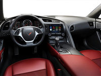 2018 Chevrolet Corvette Coupe Grand Sport 2LT | Photo 3 | Adrenaline Red GT buckets Leather seating surfaces with sueded microfiber inserts (704-AQ9)