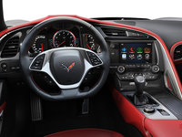 2018 Chevrolet Corvette Coupe Grand Sport 3LT | Photo 2 | Adrenaline Red Competition Sport buckets Leather seating surfaces with sueded microfiber inserts (706-AE4)