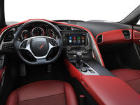 2018 Chevrolet Corvette Coupe Grand Sport 3LT | Photo 3 | Adrenaline Red Competition Sport buckets Leather seating surfaces with sueded microfiber inserts (706-AE4)