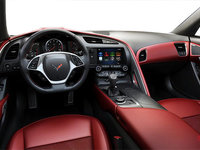 2018 Chevrolet Corvette Coupe Grand Sport 3LT | Photo 3 | Adrenaline Red GT buckets Leather seating surfaces with sueded microfiber inserts (706-AQ9)