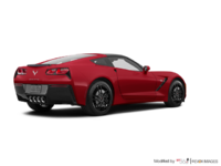 2018 Chevrolet Corvette Coupe Stingray Z51 2LT | Photo 2 | Torch Red