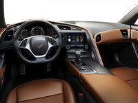 2018 Chevrolet Corvette Coupe Stingray Z51 2LT | Photo 2 | Kalahari GT buckets Leather seating surfaces with sueded microfiber inserts (344-AQ9)