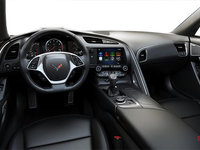 2018 Chevrolet Corvette Coupe Stingray Z51 2LT | Photo 2 | Jet Black GT buckets Perforated Mulan leather seating surfaces (193-AQ9)