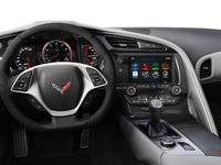 2018 Chevrolet Corvette Coupe Stingray Z51 2LT | Photo 3 | Grey Competition Sport buckets Leather seating surfaces with sueded microfiber inserts (144-AE4)