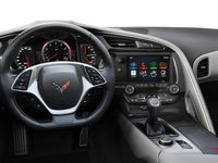 2018 Chevrolet Corvette Coupe Stingray Z51 2LT | Photo 3 | Grey Competition Sport buckets Perforated Mulan leather seating surfaces (143-AE4)
