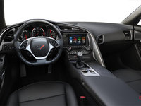 2018 Chevrolet Corvette Coupe Stingray Z51 2LT | Photo 2 | Jet Black Competition Sport buckets Perforated Mulan leather seating surfaces (193-AE4)