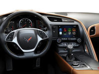 2018 Chevrolet Corvette Coupe Stingray Z51 3LT | Photo 3 | Kalahari GT buckets Leather seating surfaces with sueded microfiber inserts (346-AQ9)