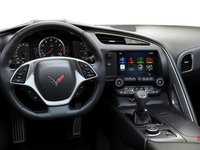 2018 Chevrolet Corvette Coupe Stingray Z51 3LT | Photo 3 | Jet Black GT buckets Leather seating surfaces with sueded microfiber inserts (198-AQ9)