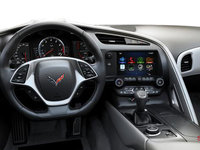2018 Chevrolet Corvette Coupe Stingray Z51 3LT | Photo 3 | Grey GT buckets Perforated Napa leather seating surfaces (145-AQ9)