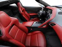 2018 Chevrolet Corvette Coupe Stingray Z51 3LT | Photo 1 | Adrenaline Red GT buckets Perforated Napa leather seating surfaces (705-AQ9)