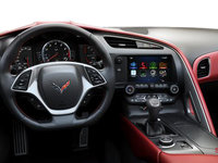 2018 Chevrolet Corvette Coupe Stingray Z51 3LT | Photo 3 | Adrenaline Red GT buckets Perforated Napa leather seating surfaces (705-AQ9)