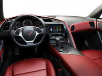 2018 Chevrolet Corvette Coupe Stingray Z51 3LT | Photo 2 | Adrenaline Red GT buckets Perforated Napa leather seating surfaces (705-AQ9)