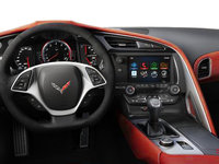 2018 Chevrolet Corvette Coupe Stingray Z51 3LT | Photo 3 | Adrenaline Red Competition Sport buckets Leather seating surfaces with sueded microfiber inserts (706-AE4)