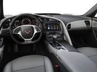 2018 Chevrolet Corvette Coupe Z06 3LZ | Photo 3 | Grey GT buckets Leather seating surfaces with sueded microfiber inserts (146-AQ9)