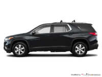 2018 Chevrolet Traverse LT TRUE NORTH | Photo 1 | Mosaic Black Metallic