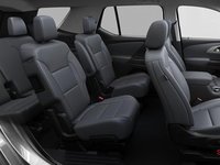 2018 Chevrolet Traverse LT TRUE NORTH | Photo 2 | Jet black/dark galvanized perforated leather
