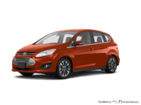 2018 Ford C-MAX HYBRID TITANIUM | Photo 3 | Hot Pepper Red Tinted Clearcoat