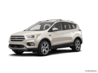 2018 Ford Escape TITANIUM | Photo 3 | White Gold