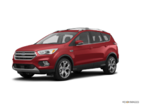 2018 Ford Escape TITANIUM | Photo 3 | Ruby Red Metalic Tinted