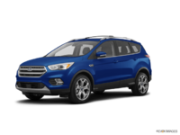 2018 Ford Escape TITANIUM | Photo 3 | Blue Lightning