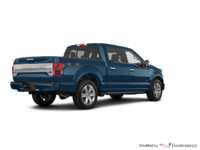 2018 Ford F-150 PLATINUM | Photo 2 | Blue Jeans Metallic