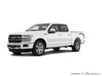 2018 Ford F-150 PLATINUM | Photo 3 | White Platinum Metallic