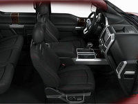 2018 Ford F-150 PLATINUM | Photo 1 | Black Leather Buckets Seats (9B)