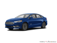 2018 Ford Fusion Hybrid TITANIUM | Photo 3 | Lightning Blue