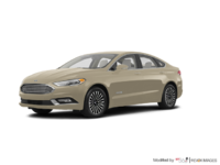 2018 Ford Fusion Hybrid TITANIUM | Photo 3 | White Gold