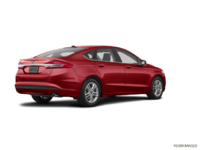 2018 Ford Fusion SE | Photo 2 | Ruby Red