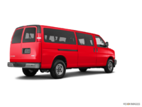 2018 GMC Savana 3500 PASSENGER LT | Photo 2 | Cardinal Red