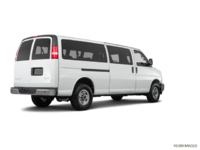 2018 GMC Savana 3500 PASSENGER LT | Photo 2 | Summit White