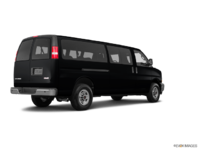 2018 GMC Savana 3500 PASSENGER LT | Photo 2 | Black Onyx