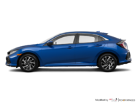 2018 Honda Civic hatchback LX | Photo 1 | Aegean Blue Metallic