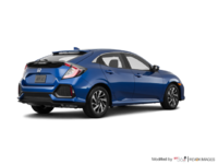 2018 Honda Civic hatchback LX | Photo 2 | Aegean Blue Metallic
