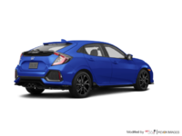 2018 Honda Civic hatchback SPORT TOURING | Photo 2 | Aegean Blue Metallic