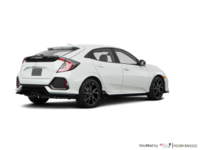 2018 Honda Civic hatchback SPORT TOURING | Photo 2 | White Orchid Pearl