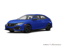 2018 Honda Civic hatchback SPORT TOURING | Photo 3 | Aegean Blue Metallic