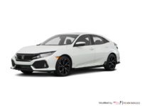 2018 Honda Civic hatchback SPORT TOURING | Photo 3 | White Orchid Pearl