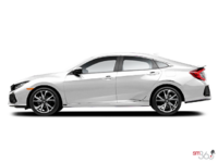 2018 Honda Civic Sedan SI | Photo 1 | White Orchid Pearl