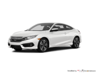 2018 Honda Civic Coupe EX-T | Photo 3 | White Orchid Pearl