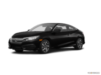 2018 Honda Civic Coupe LX | Photo 3 | Crystal Black Pearl
