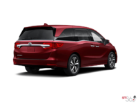 2018 Honda Odyssey TOURING | Photo 2 | Deep Scarlet Pearl