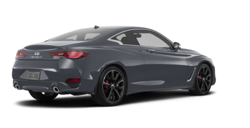 INFINITI Q60 Coupe RED SPORT 2017